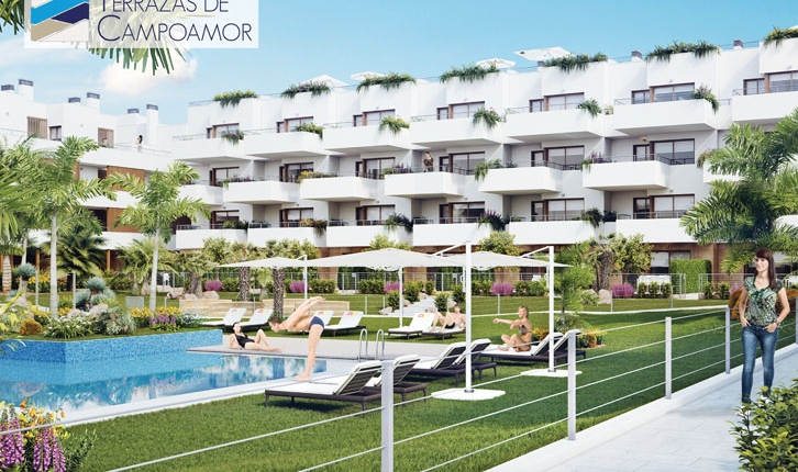 Apartment/Flat - New Build - Orihuela costa - Dehesa de Campoamor