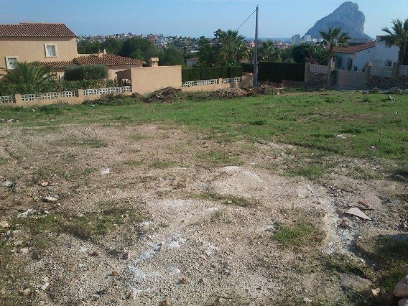 Sale · Plot Calpe